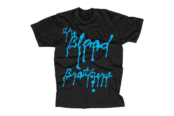 Drippy germs blue t shirt